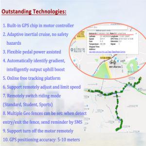 Trägheitskreuzfahrt-Gebirgselektrisches Fahrrad mit 2 in 1 GPS-Bewegungscontroller