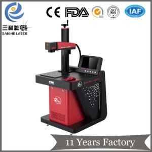 50W máquina de gravação a laser de fibra para reservatórios de Telefone móvel