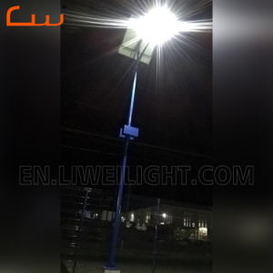 24014d2b5269 Farola exterior de acero galvanizado Solar postes de alumbrado público