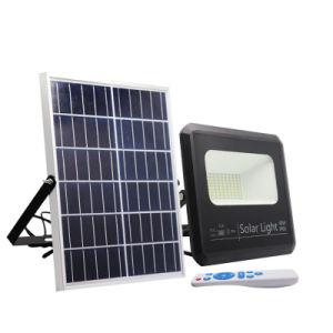 6500K Dimmableの日光センサーの屋外の40ワットIP65はフラッドライトLEDの太陽洪水ライトを防水する