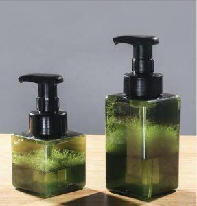 50ml正方形のプラスチック手の石鹸の液体の泡ポンプびん