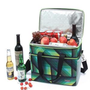De grands sacs de glace Pack boire du refroidisseur d'isolation thermique des aliments Loisirs Handbag Women's Kid's pochette de pique-nique Boîte à lunch des accessoires