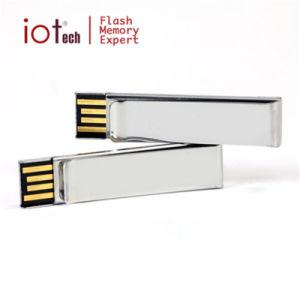 Металлический фиксатор пользовательский дизайн карты памяти USB флэш-накопитель подарков