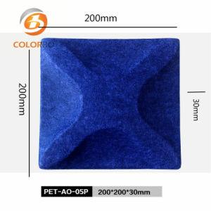 een vuurvast en Correct 3D Product van het Comité van de Vezel van de Polyester van de Absorptie