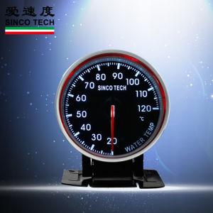 60мм 635car всеобщей 7 двухцветный светодиодный указатель бар температура воды индикатор Car двигателя
