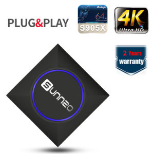 Iudtv Suscription mit Sunnzo IPTV leben androider Fernsehapparat-Kasten für Europa und USA 2500 Chanels IPTV leben