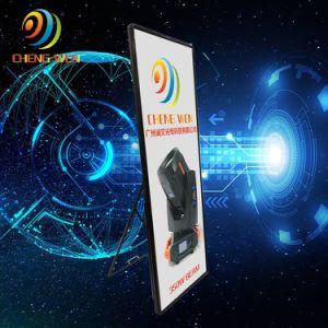 La publicité vidéo HD Miroir P1.9 LED de visualisation affiche