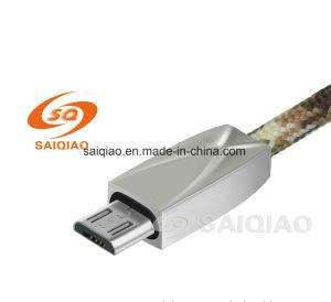 Cavo di dati di carico in lega di zinco Mirco-USB per il Android