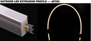 Streifen-Gefäß-Profil super dünnes der Breiten-Ne2212 Neonflexfreies der Schlaufen-3528SMD 2835SMD 5050SMD RGB des Silikon-LED für Buliding magisches lineares Licht