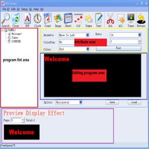 P7.62-24X200 светодиодный дисплей экран модуля красный светодиодный индикатор этап отображения