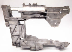 지상 알루미늄 합금 재봉틀 Armbed를 가진 특별한 부분