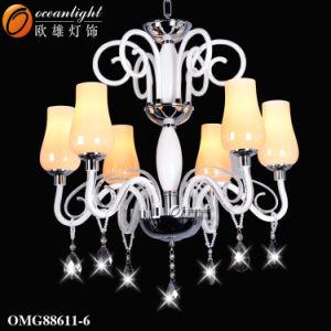 Zhongshan Pendente de vidro clássico de fábrica lustre a Lâmpada (OM931)
