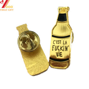 Cutomの金カラー(YB-SM-05)の柔らかいエナメルPin