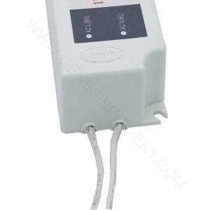 36W24V resistente al agua Modo de conmutación de CCTV LED DC Driver transformador de salida única fuente de alimentación, fuente de alimentación de CA CC exterior IP67 para Shell Plassic Tira de luz LED