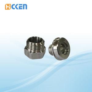 Fabrik-kundenspezifischer Fachmann-maschinell bearbeitende Stahlglastür-Befestigung ISO-9001
