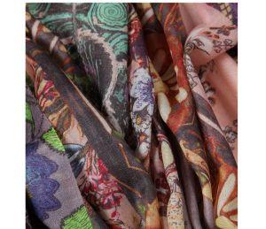 Seda e mistura de Caxemira lenço de seda para senhora