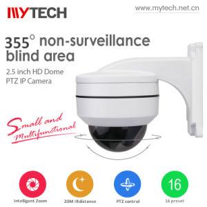 360 IP van de Veiligheid van kabeltelevisie van de graad de Camera van de Functie PTZ van IRL van de Camera voor Toezicht
