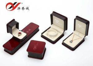 En Similicuir de haute qualité personnalisée en usine papier en plastique Boîte à bijoux d'affichage, boîte à bijoux à l'emballage