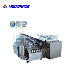 Vertikale Ultraschallflaschenreinigung-Maschinerie