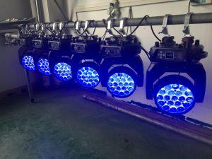 19HP 15W fase de Movimentação do feixe de luz na Discoteca