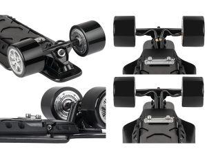 歯切り工具モーターを搭載する電気4つの車輪のスケートボードLongboard