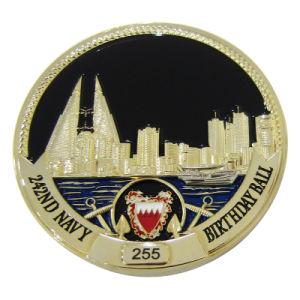 도매 주문 다이아몬드 가장자리 미국 금 사기질 금속 동전 (246)