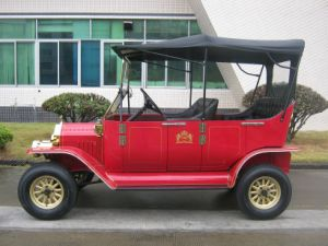 رومانسيّ يصمد كهربائيّة لعبة غولف استعمل سيارة لأنّ عرس