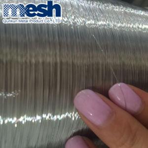 Cor prateada e luminosos do fio de aço inoxidável para venda