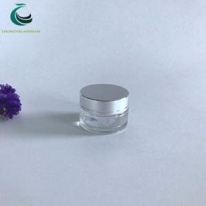 卸し売り5g 10g 15g 30gの小さく装飾的な瓶のガラスビンの瓶の曇らされたガラスの化粧品の瓶