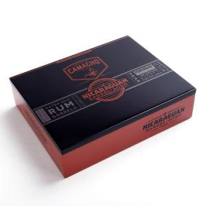 La madera de cedro de moda de la caja de cigarros Humidor de Verificación de caja de regalo