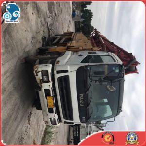 8X4 42m/Boomの長さ秒針の具体的中継ペルーのための機械装置によって使用されるセメントポンプトラック