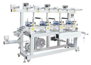 Macchina di laminazione della multi delle stazioni del laminatore del rullo gomma piuma di carta adesiva automatica della pellicola