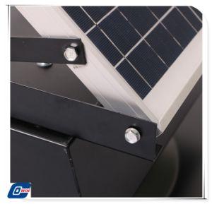 25W9a com bateria alimentada a energia solar ventilador de teto