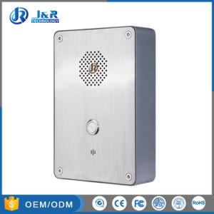Вандалозащищенная экстренного вызова окна двери повышенной прочности, Телефон, Телефон VoIP для элеватора соломы