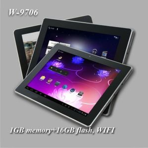 9.7 Inch Quad Core Tablet PC mit 1.5GHz+1GB Memory+16GB Flash+Android 4.0