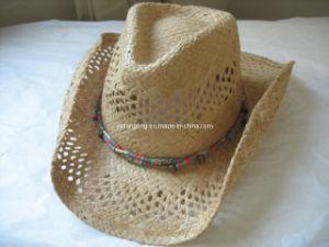 La rafia sombrero de vaquero