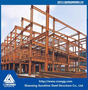 La luz de la construcción de prefabricados de estructura de acero para almacén