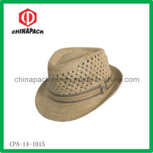 Brown Fedora Hats (CPA-14-1015)