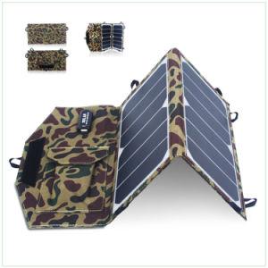 Plegado de 10W Panel solar plegable cargador portátil para móviles de fuente de alimentación
