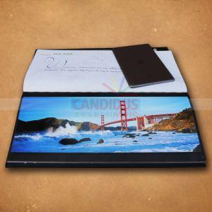 ハードカバー本の写真撮影の本のコーヒーテーブルの本の印刷
