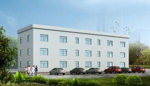 Ufficio prefabbricato della struttura d'acciaio del Arco-Tetto (KXD-SSB1066)