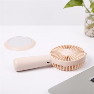4つのカラー小型USB表の再充電可能な立場のファン