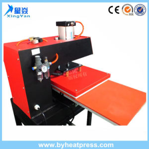 자동 장전식 15 ' x15 두 배 역 기계를 인쇄하는 압축 공기를 넣은 t-셔츠 열전달