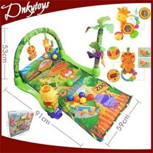 Musicの&Lightとの森林Carpet Soft Toys Baby Play Activity Gym Soft Toy