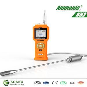Портативный IP65 аммиака газа с помощью электрохимического датчика газа (NH3 0-100стр/мин)