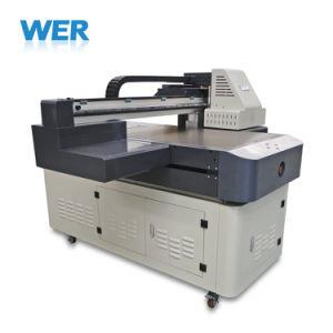 デジタル平面紫外線プリンターA1多機能のガラスコップのびんのカードの電話箱カバー金属の印字機の価格