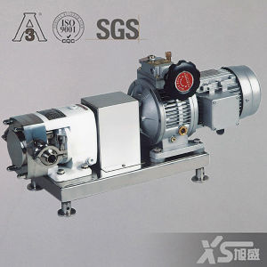 Ss304 o Ss316L Sanitary Rotary Lobe Pump per High Viscosity