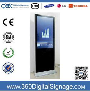 47-дюймовый HD пол тип TV Digital Signage ЖК-рекламу с использованием сети 3G/WiFi для коммерческих зданий