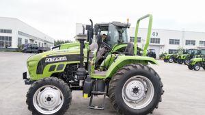 Venta caliente de Tracción 4X4 de 60 CV Tractor agrícola 70HP de 90 HP de 80 HP de 100 CV para la venta