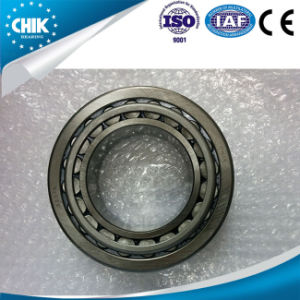 Los cojinetes de piezas de repuesto Linqing Auto métricas del rodamiento de rodillos cónicos (32208)